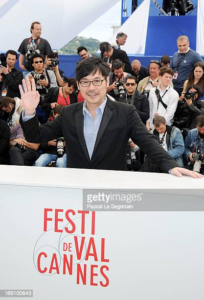 Actor Wai KaFai attends the photocall for 'Blind Detective' during The 66th Annual Cannes Film Festival at Palais des Festivals on May 20 2013 in...