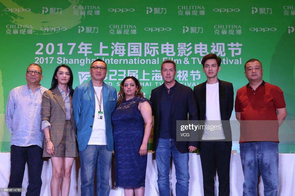 23rd Shanghai TV Festival - Jury Press Conference
