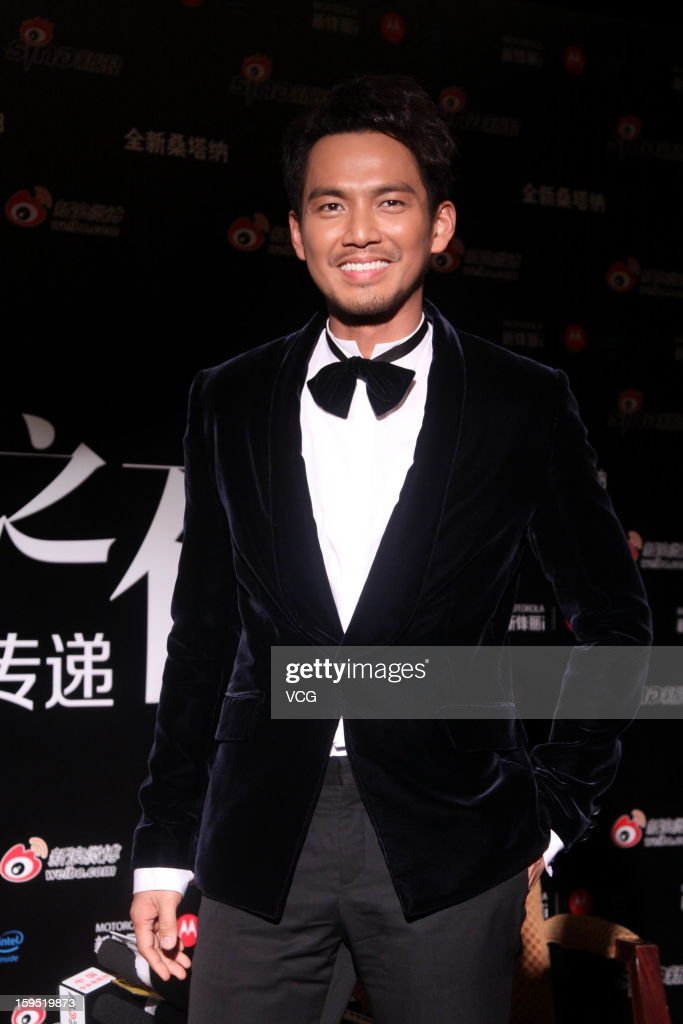 Actor Wallace Chung attends the 2012 Sina Weibo Awards Ceremony at China World Trade Center Tower 3 on January 14, 2013 in Beijing, China.