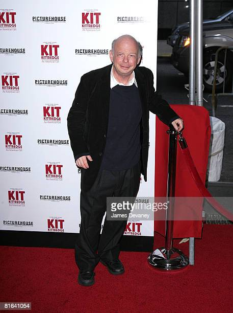 Actor Wallace Shawn attends the the 'Kit Kittredge An American Girl' premiere at the Ziegfeld Theater on June 19 2008 in New York City New York