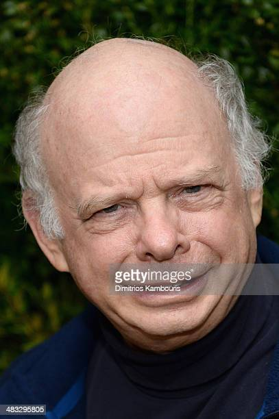 Actor Wallace Shawn attends the Vogue The Cinema Society screening of Turks and Caicos at the Crosby Street Hotel on April 7 2014 in New York City
