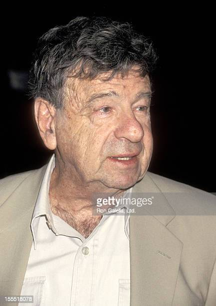 Actor Walter Matthau attends the Shooting Gallery's First Annual Celebrity Basketball Game Theatrical Teamsters Local 817 vs Celebrities on June 17...