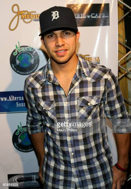 Actor Walter Perez arrives at Latin Comedy Cholo Slam at the Million Dollar Theater on November 5 2009 in Los Angeles California