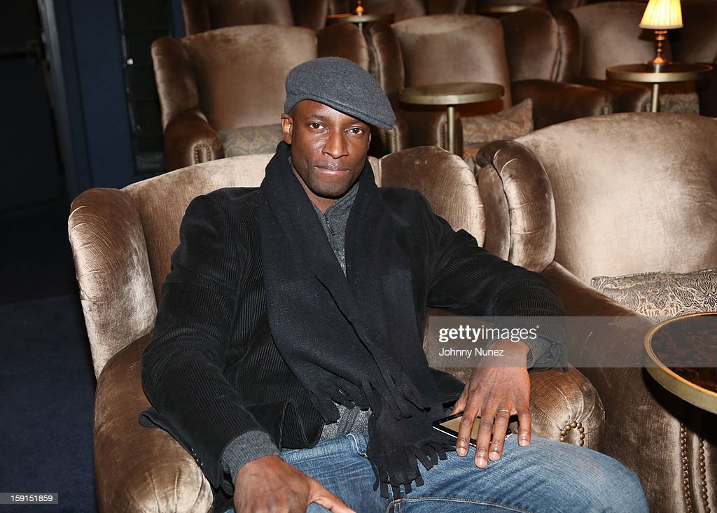 Actor Walter Simpson III attends the 'LUV' Tastemaker Screening at Soho House on January 8, 2013 in New York City.