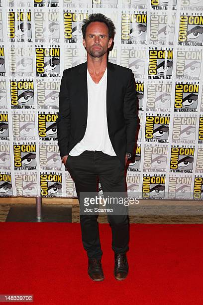 Actor Walton Goggins attends 'Django Unchained' at ComicCon 2012 at Hilton San Diego Bayfront Hotel on July 14 2012 in San Diego California