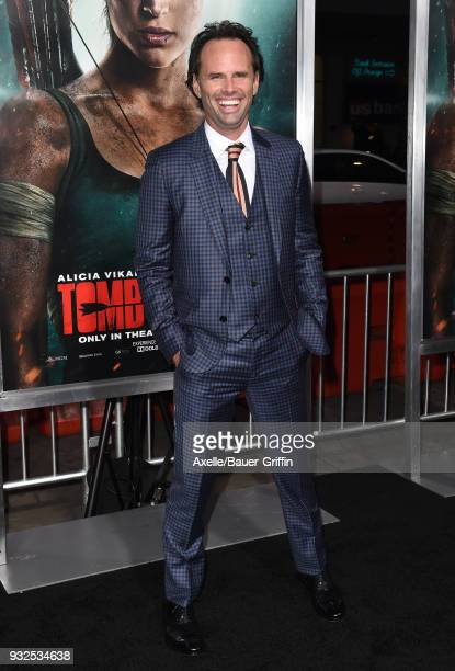 Actor Walton Goggins attends the Los Angeles Premiere of 'Tomb Raider' at TCL Chinese Theatre IMAX on March 12 2018 in Hollywood California