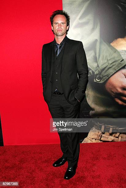 Actor Walton Goggins attends the premiere of Miracle at St Anna at Ziegfeld Theatre on September 22 2008 in New York City