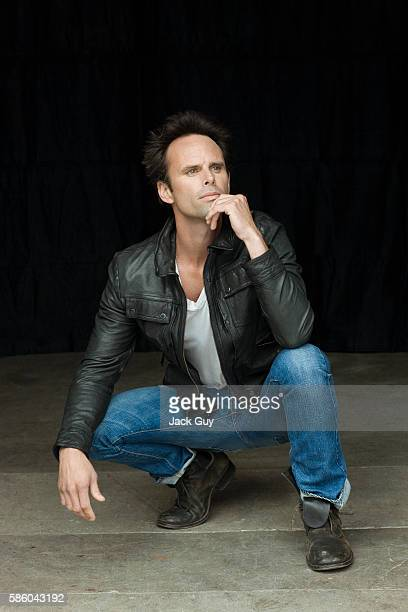 Actor Walton Goggins is photographed for Emmy Magazine in 2011 in Los Angeles California