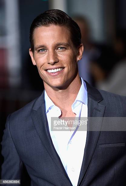 Actor Ward Horton arrives at the screening Of New Line Cinema's Annabelle at TCL Chinese Theatre on September 29 2014 in Hollywood California