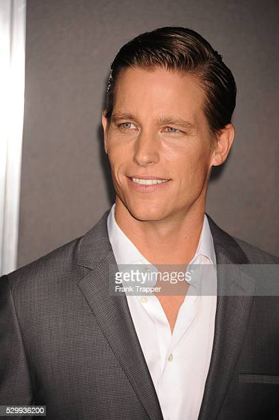 Actor Ward Horton arrives at the special screening of Annabelle held at the TCL Chinese theater in Hollywood