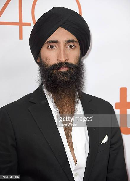 Actor Waris Ahluwalia attends the Beeba Boys premiere during the 2015 Toronto International Film Festival at Roy Thomson Hall on September 13 2015 in...