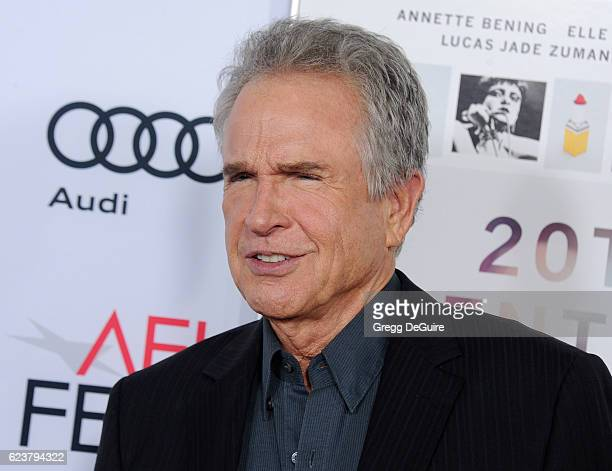 Actor Warren Beatty arrives at the AFI FEST 2016 Presented By Audi A Tribute To Annette Bening And Gala Screening Of A24's 20th Century Women at TCL...