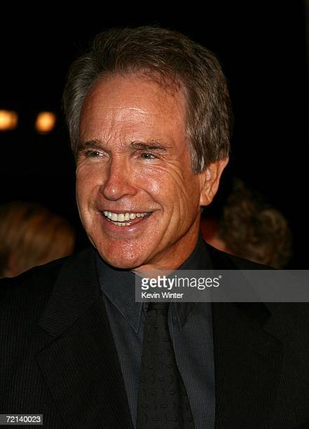 Actor Warren Beatty arrives at the world premiere of Tristar Picture's Running With Scissors at the Academy of Motion Picture Arts Sciences October...
