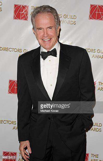 Actor Warren Beatty attends the 14th Annual Art Directors Guild Awards at The Beverly Hilton Hotel on February 13 2010 in Beverly Hills California