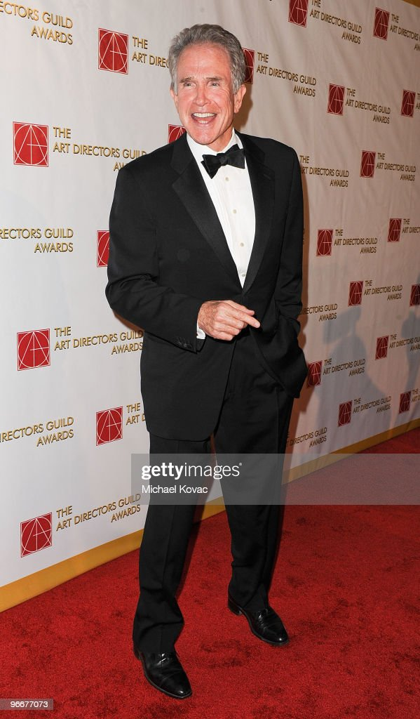 Actor Warren Beatty attends the 14th Annual Art Directors Guild Awards at The Beverly Hilton Hotel on February 13, 2010 in Beverly Hills, California.