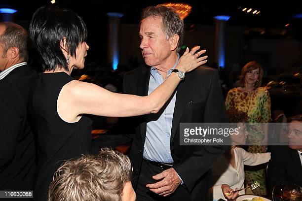 Actor Warren Beatty during the 2011 Women In Film Crystal Lucy Awards with presenting sponsor PANDORA jewelry at the Beverly Hilton Hotel on June 16...