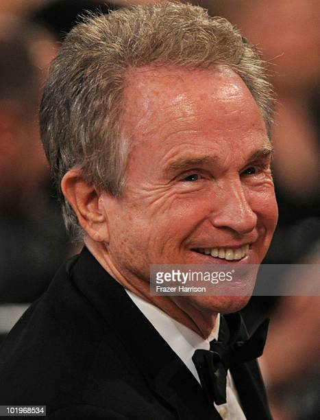 Actor Warren Beatty in the audience during the 38th AFI Life Achievement Award honoring Mike Nichols held at Sony Pictures Studios on June 10 2010 in...