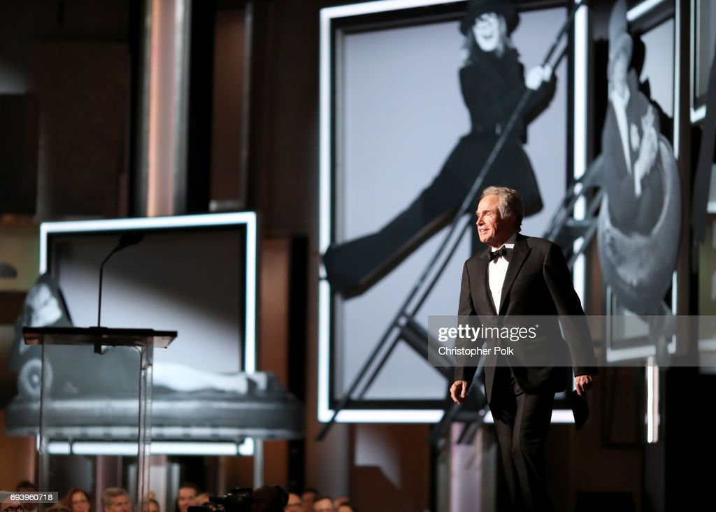 Actor Warren Beatty speaks onstage during American Film Institute's 45th Life Achievement Award Gala Tribute to Diane Keaton at Dolby Theatre on June 8, 2017 in Hollywood, California. 26658_002