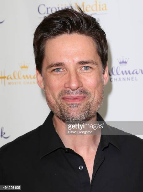 Actor Warren Christie attends The Color of Rain premiere screening presented by the Hallmark Movie Channel at The Paley Center for Media on May 28...