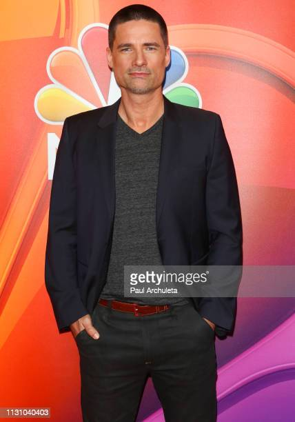 Actor Warren Christie attends the NBC's Los Angeles midseason press junket at NBC Universal Lot on February 20 2019 in Universal City California