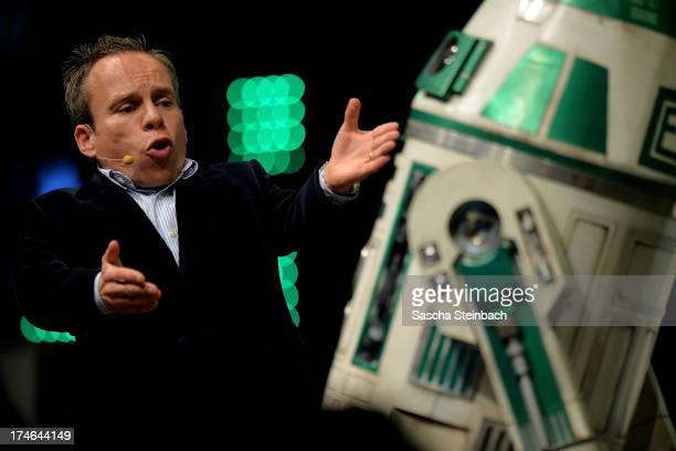 Actor Warwick Davis attends the Star Wars Celebration at Messe Essen on July 28 2013 in Essen Germany