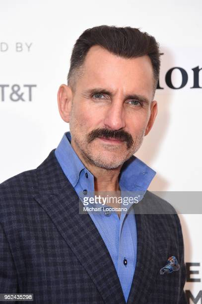Actor Wass Stevens attends the premiere of Summertime with Tribeca Talks Storytellers during the 2018 Tribeca Film Festival at BMCC Tribeca PAC on...