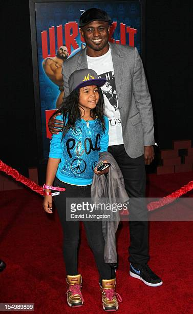 Actor Wayne Brady and daughter Maile Brady attend the premiere of Walt Disney Animation Studios' WreckIt Ralph at the El Capitan Theatre on October...