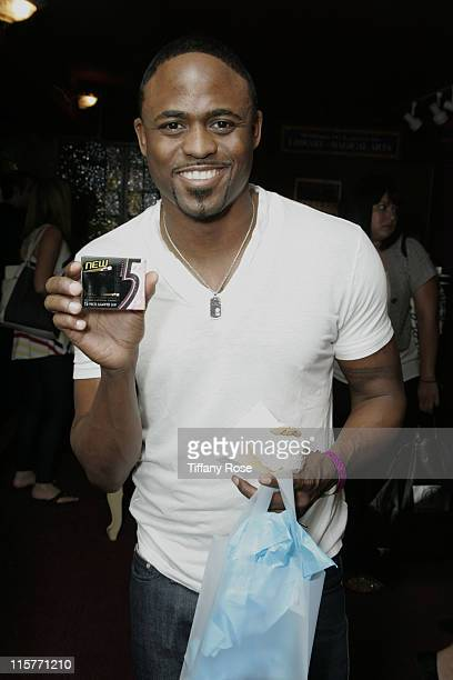 Actor Wayne Brady and PNY at day 1 of Melanie Segal's Kids' Choice Awards Lounge presented by Stouffer's at The Magic Castle on March 25 2009 in Los...