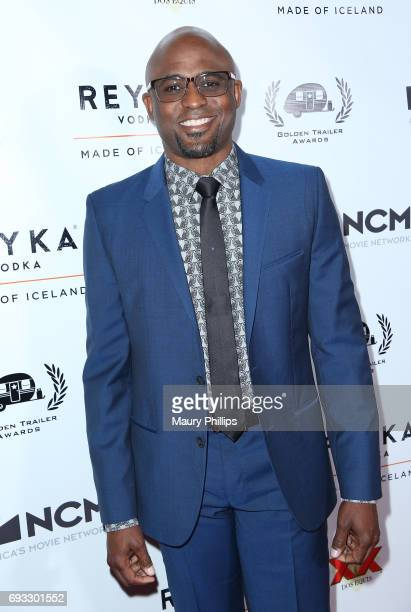 Actor Wayne Brady arrives at the 18th Annual Golden Trailer Awards hosted by Wayne Brady on June 6 2017 in Beverly Hills California