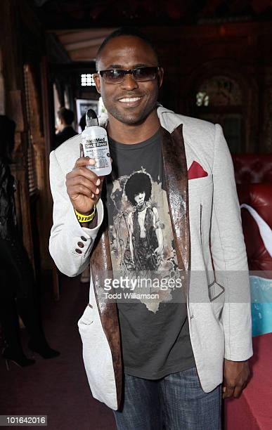 Actor Wayne Brady at the Melanie Segal's Celebrity SOS Lounge at House of Blues Sunset Strip on June 4 2010 in West Hollywood California