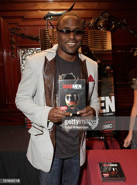 Actor Wayne Brady attends the Melanie Segal's Celebrity SOS Lounge at House of Blues Sunset Strip on June 4 2010 in West Hollywood California