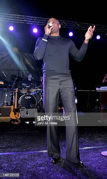 Actor Wayne Brady performs at THE Event at the Calabasas Tennis and Swim Center on June 9 2012 in Calabasas California