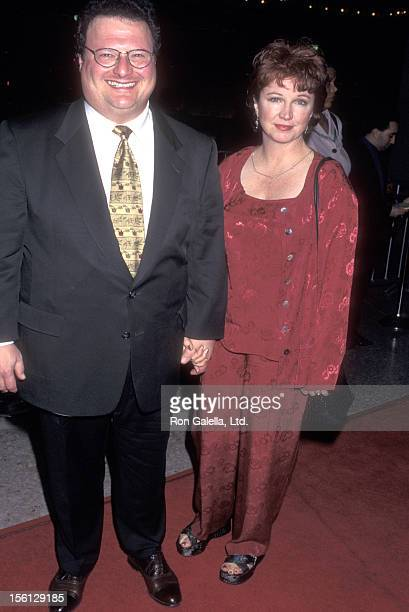 Actor Wayne Knight and wife Paula Sutor attend the 'For Richer For Poorer' Century City Premiere on December 4 1997 at Cineplex Odeon Century Plaza...