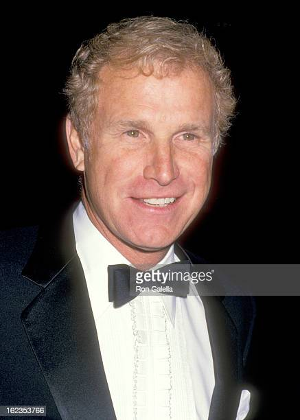 Actor Wayne Rogers attends the 'History of Hollywood' Costume Exhibition on December 3 1987 at Natural History Museum of Los Angeles County in Los...