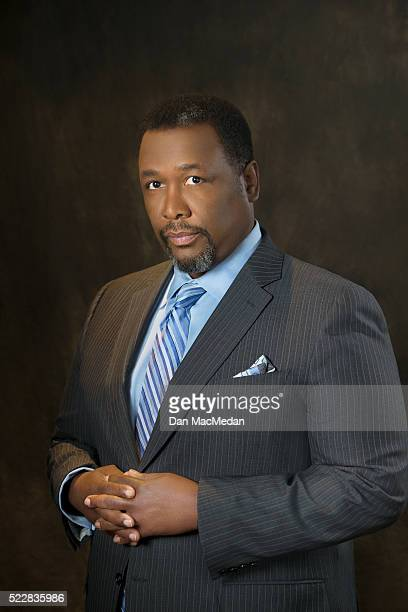 Actor Wendell Pierce is photographed for USA Today on April 2 2016 in Los Angeles California