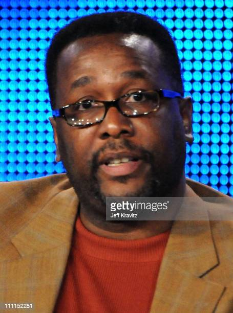"""Actor Wendell Pierce of """"Treme"""" speaks during the HBO portion of the 2010 Television Critics Association Press Tour at the Langham Hotel on January..."""