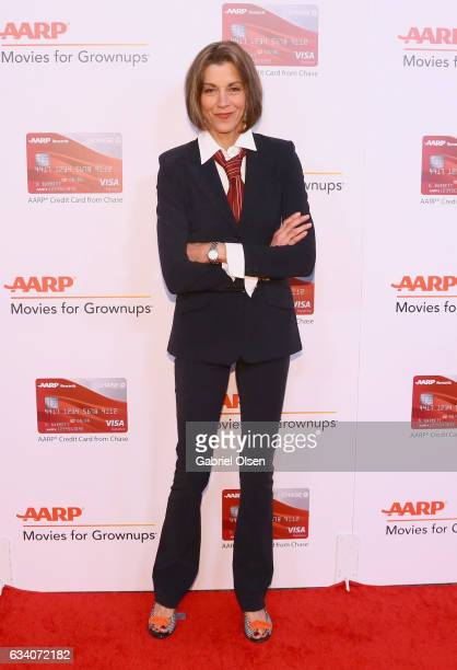 Actor Wendie Malick attends the 16th Annual AARP The Magazine's Movies For Grownups Awards at the Beverly Wilshire Four Seasons Hotel on February 6...