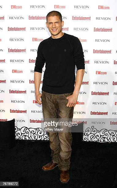 Actor Wentworth Miller arrives at Entertainment Weekly's 5th Annual Emmy Celebration at Opera/Crimson on September 15 2007 in Los Angeles California