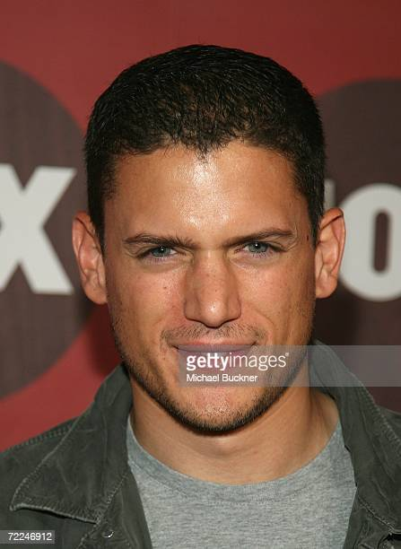 Actor Wentworth Miller arrives at the Fox Fall EcoCasino Party at Boulevard3 on October 23 2006 in Los Angeles California