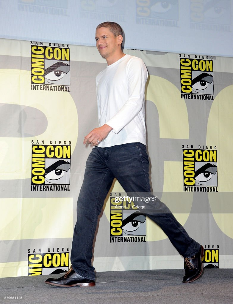 Actor Wentworth Miller attends the Fox Action Showcase: 'Prison Break' And '24: Legacy' during Comic-Con International 2016 at San Diego Convention Center on July 24, 2016 in San Diego, California.
