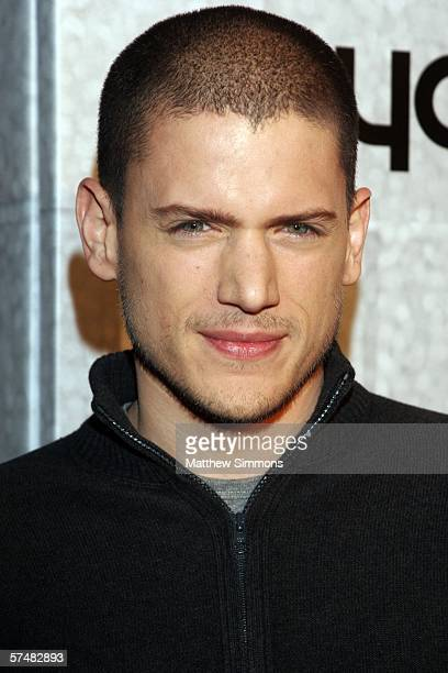 Actor Wentworth Miller attends the 'Prison Break' end of season screening party on the Fox Studios lot on April 27 2006 in Los Angeles California