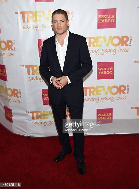 Actor Wentworth Miller attends 'TrevorLIVE LA' Honoring Robert Greenblatt Yahoo and Skylar Kergil for The Trevor Project at Hollywood Palladium on...