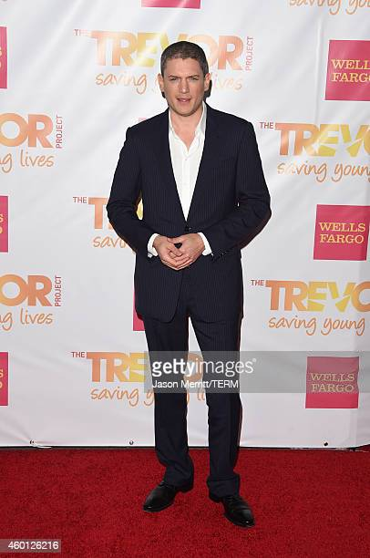 Actor Wentworth Miller attends TrevorLIVE LA Honoring Robert Greenblatt Yahoo and Skylar Kergil for The Trevor Project at Hollywood Palladium on...