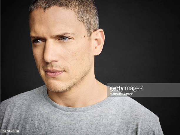 Actor Wentworth Miller from 'Prison Break' is photographed for Entertainment Weekly Magazine on July 23 2016 at Comic Con in the Hard Rock Hotel in...