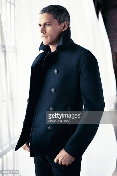 Actor Wentworth Miller is photographed for August Man in August in New York City PUBLISHED IMAGE