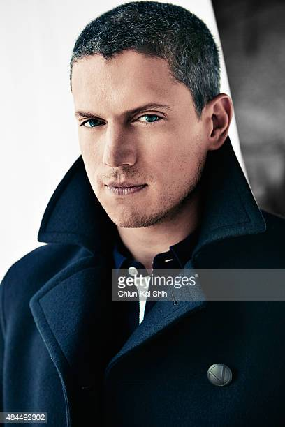 Actor Wentworth Miller is photographed for August Man in August in New York City