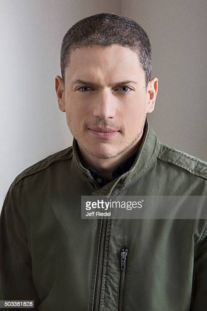 Actor Wentworth Miller is photographed for TV Guide Magazine on January 17 2015 in Pasadena California