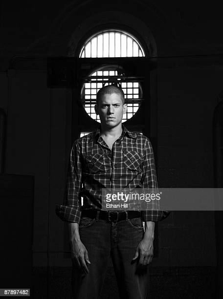 Actor Wentworth Miller poses at a portrait session for Entertainment Weekly Magazine