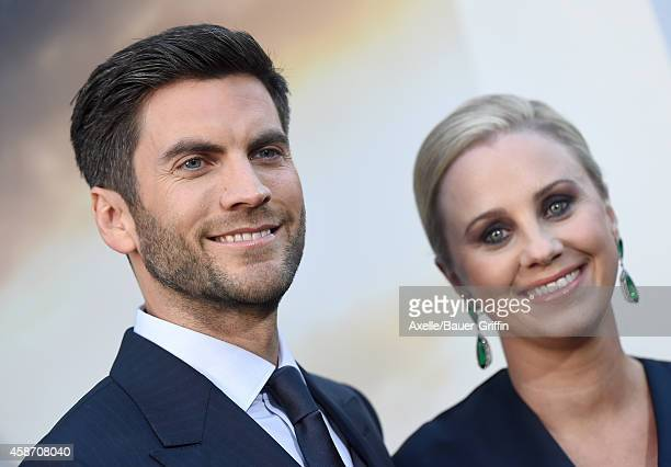 Actor Wes Bentley and wife producer Jacqui Swedberg arrive at the Los Angeles Premiere of 'Interstellar' at TCL Chinese Theatre IMAX on October 26...