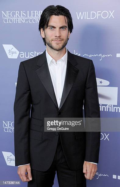 Actor Wes Bentley arrives at the 8th Annual Australians In Film Breakthrough Awards at InterContinental Hotel on June 27 2012 in Century City...